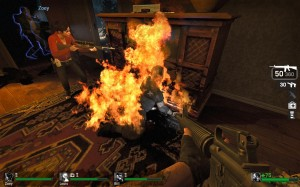 A molotov cocktail in the right place can decimate a zombie horde